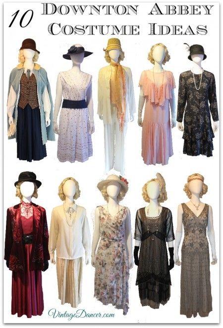 10 Downton Abbey Costume Ideas, Roaring Twenties Style ...