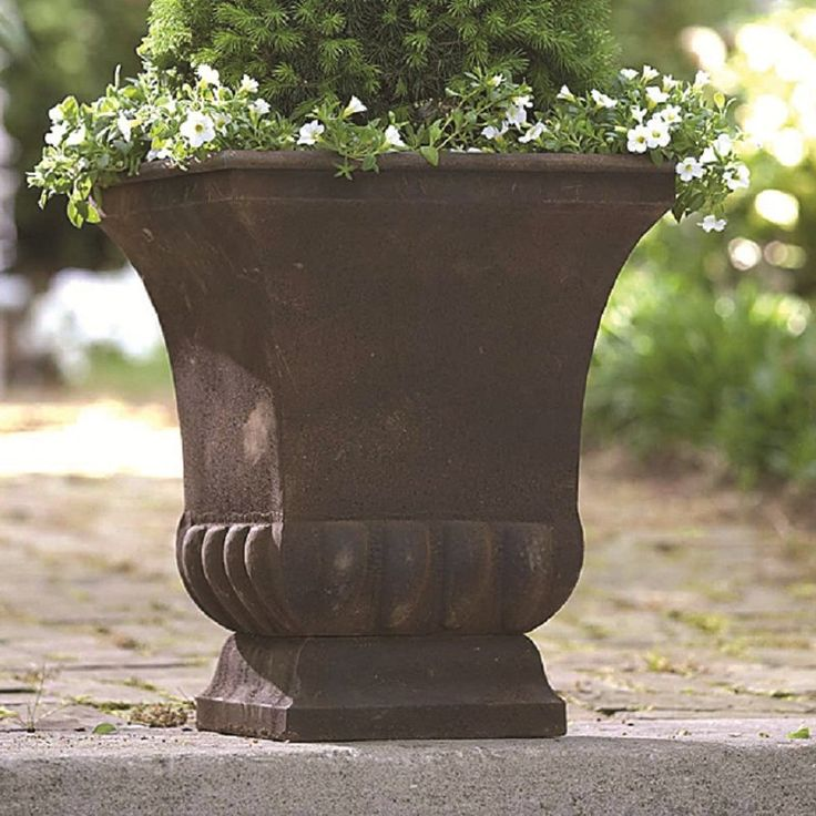 Gardman 1-Piece Metal Urn Planter & Reviews   Wayfair