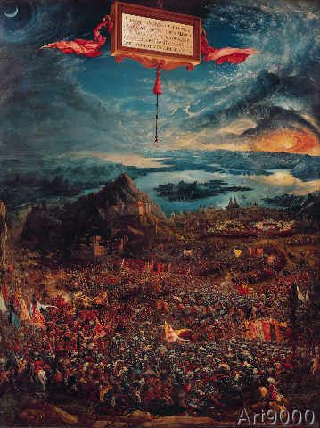 Albrecht Altdorfer - The Battle of Issus