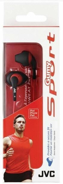 JVC Gumy Sports Earbuds Secure Sweatproof 20-20K Hz Black from US Seller #JVC #GumySportStereoEarbuds