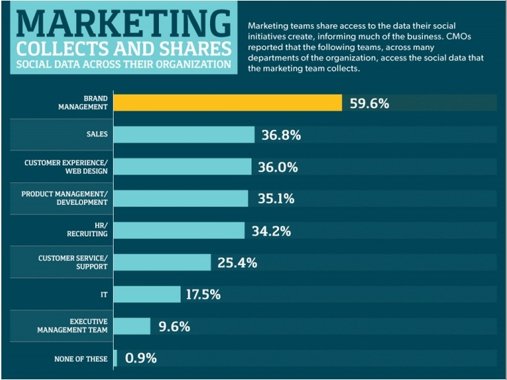 Results of a survey by Bazaarvoice and CMO Club on how social data impacts marketing decision making.
