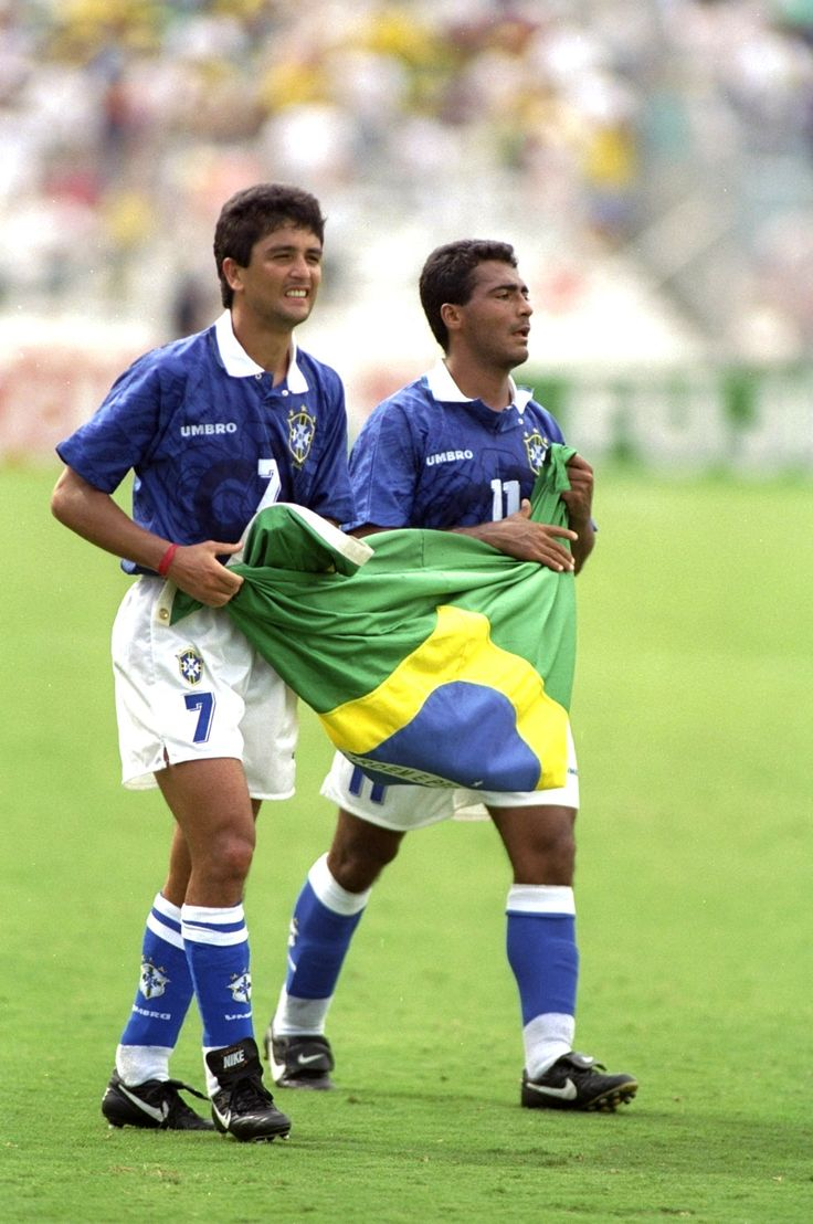 Bebeto / Romario. Brazil - USA '94 World Cup