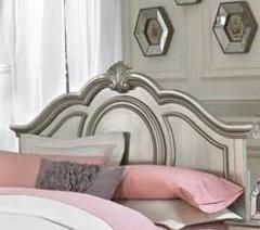Charming and inviting, this full size headboard will lend a lovely ambiance to every young lady's bedroom space.