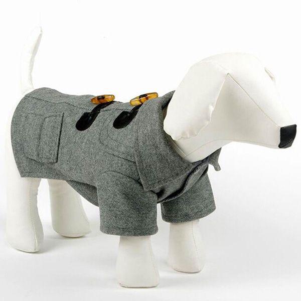 Hond Dikker Kostuum Huisdier Wol Jas Kleding Winter Warm Puppy Kat Huisdier Jas  3xl
