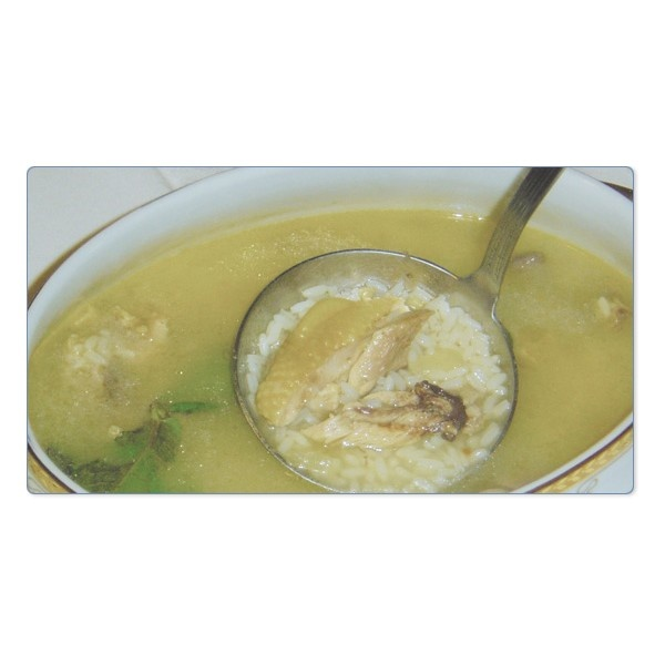 Portuguese Chicken Soup (1) - Portuguese Food - Canja.  Still eat it today when I'm sick.