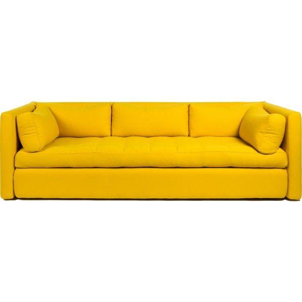 Hackney Sofa ontworpen door Sebastian Wrong voor HAY. B254xD96xH75 en (zithoogte) 39 cm