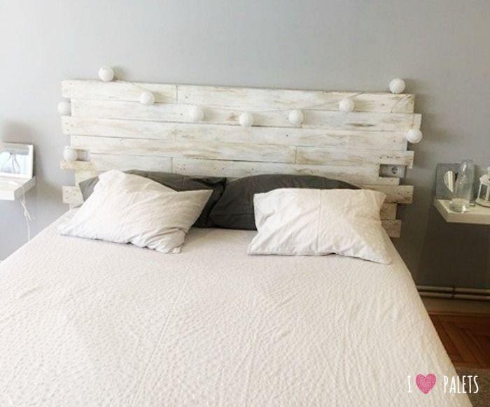 Habitaciones juveniles con encanto lacadas en blanco for Cabeceros juveniles ikea