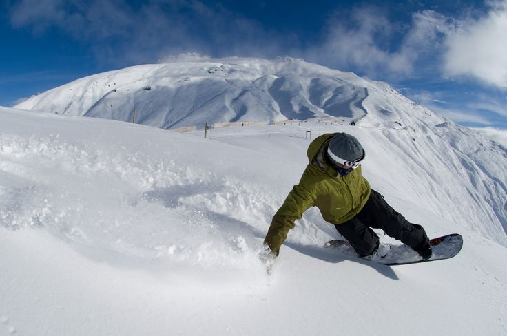Powder at Treble Cone! It's that time of year again. :)