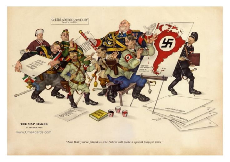 Arthur SZYK, WWII Propaganda Artist