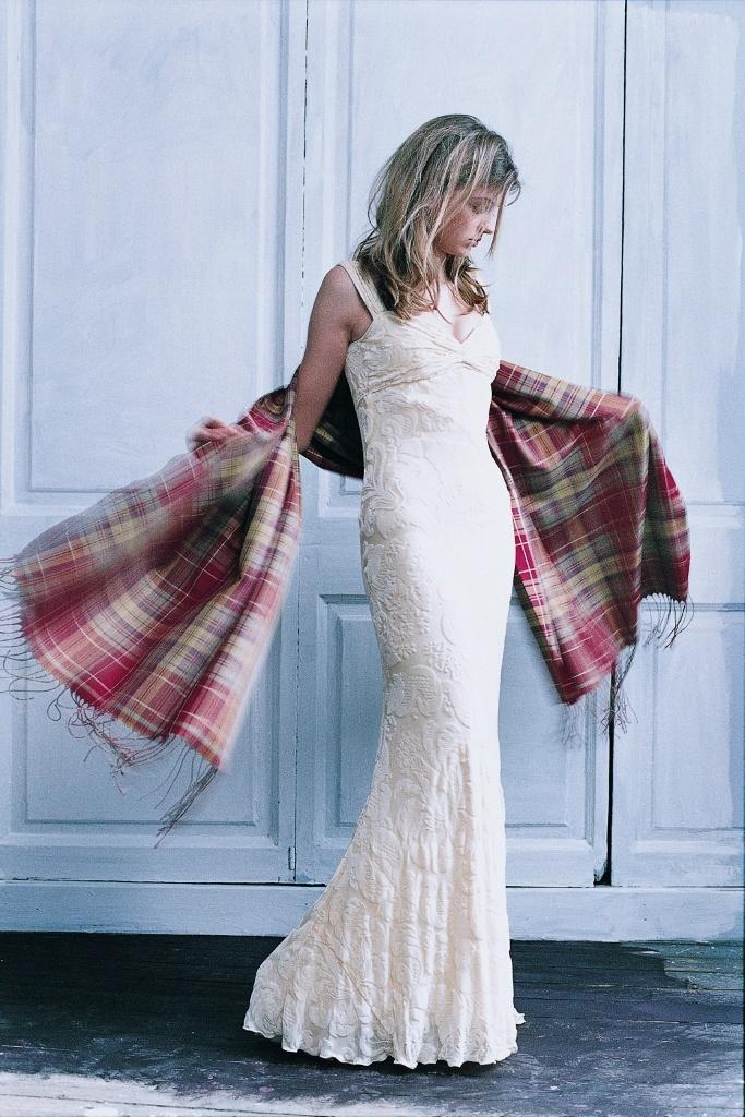 83 best tartan style wedding images on pinterest celtic for Scottish wedding dresses with tartan