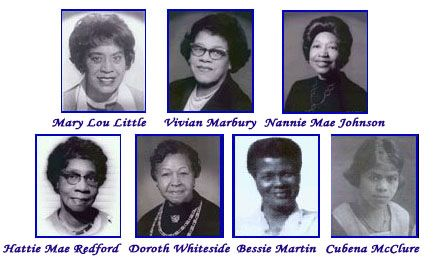 Sigma Gamma Rho Sorority, Inc. Founders