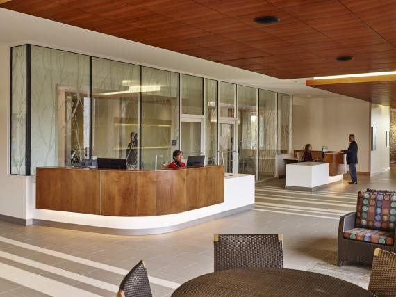 photo tour: holy cross germantown hospital | healthcare design