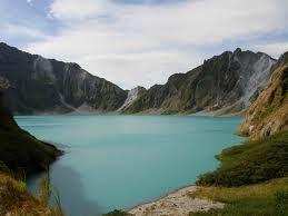Mount Pinatubo in Zambales, Philippines
