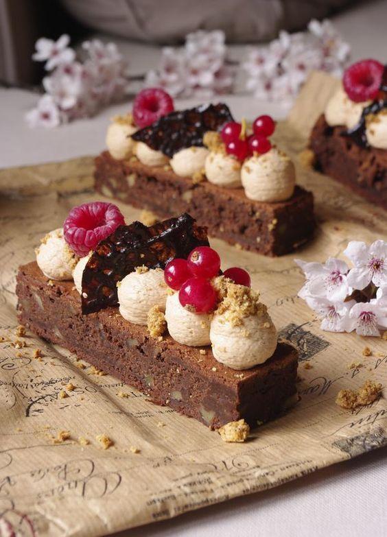 brownie chocolat au lait caramel recette dessert. Black Bedroom Furniture Sets. Home Design Ideas