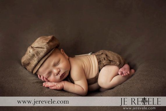 Baby Photo Outfit Infant Boy Prop Newborn boy by fourtinycousins