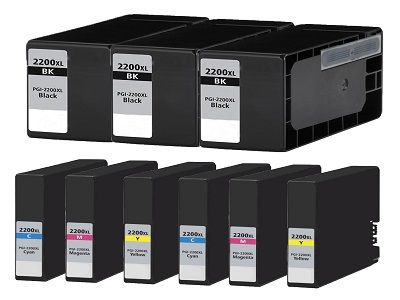 Buy PGI2200XL Ink Cartridge 9PK - 3B/2CMY for Canon at LAinks.com. We offer to save 30-70% on ink and toner cartridges. 100% Satisfaction Guarantee.
