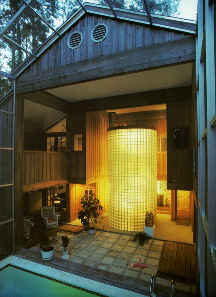 184 best Glass Block Exterior Applications images on Pinterest ...