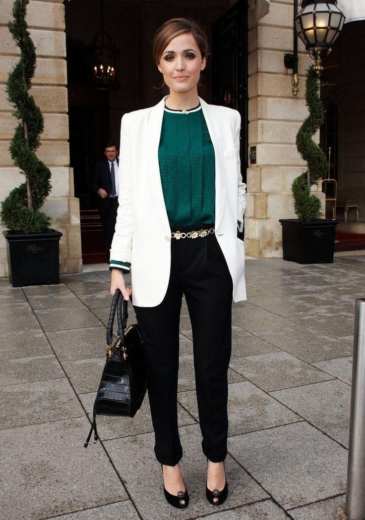 nice Шикарный белый женский пиджак (50 фото) — С чем носить? Читай больше http://avrorra.com/belyj-pidzhak-zhenskij-foto/