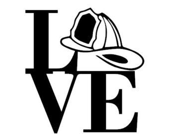Etiqueta de bombero, bombero de la etiqueta, etiqueta del coche de bombero, bombero Yeti etiqueta, etiqueta personalizada, etiqueta del coche de bombero, bombero