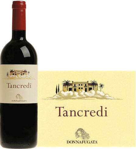 Donnafugata 2008 Tancredi -  Elegant and bodied red wine, its bouquet settles on notes of licorice, cocoa, black currant, berries with a hits of mint +496273 SPEC
