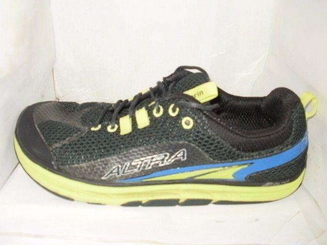 Altra Men S Black Mesh Running Shoes Size 11 45 Zero Drop Altra Athleticsneakers Black Running Shoes Running Shoes For Men Casual Running Shoes