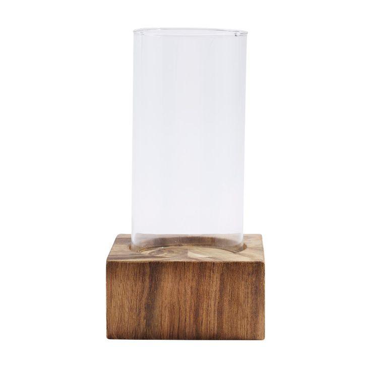 Candleholder w/hurricane