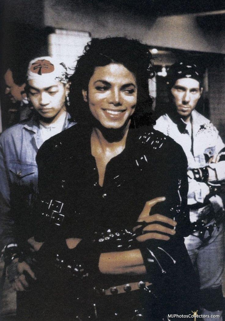 Michael Jackson Bad Era - gorgeous smile :)