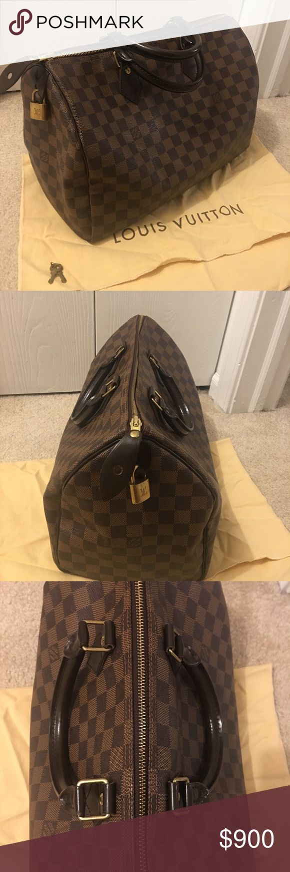 Louis Vuitton Speedy 35 *Mint/Like new condition* Great condition Authentic Louis Vuitton Speedy 35.  Very well taken care of no stains, wear, or tear. Louis Vuitton Bags