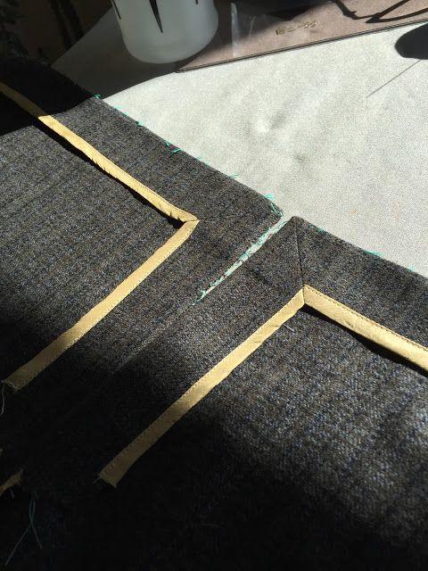 Ladies Tailoring: Mitered Corners                                                                                                                                                                                 Mais