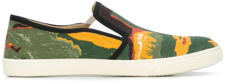 Stella McCartney Bosco slip-on sneakers