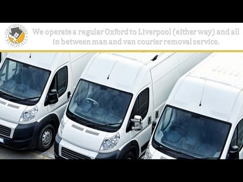 Oxford to Liverpool Removals
