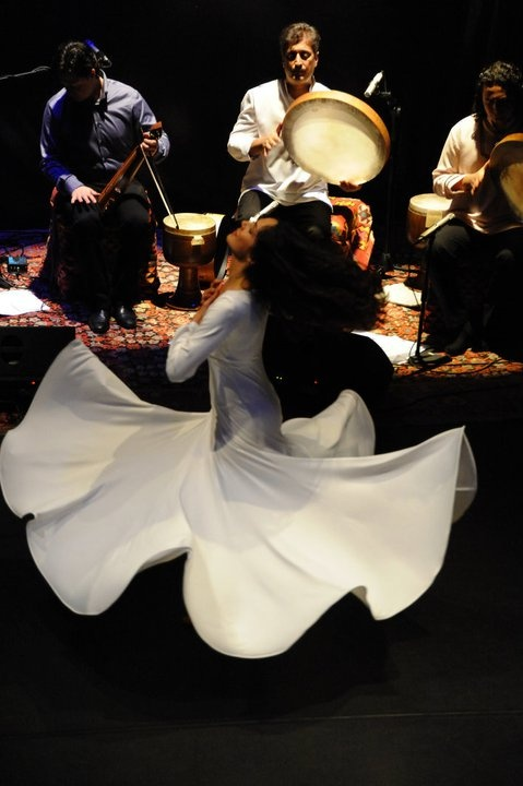 Sufi dance with Bansfsheh and Zarbang Ensemble.