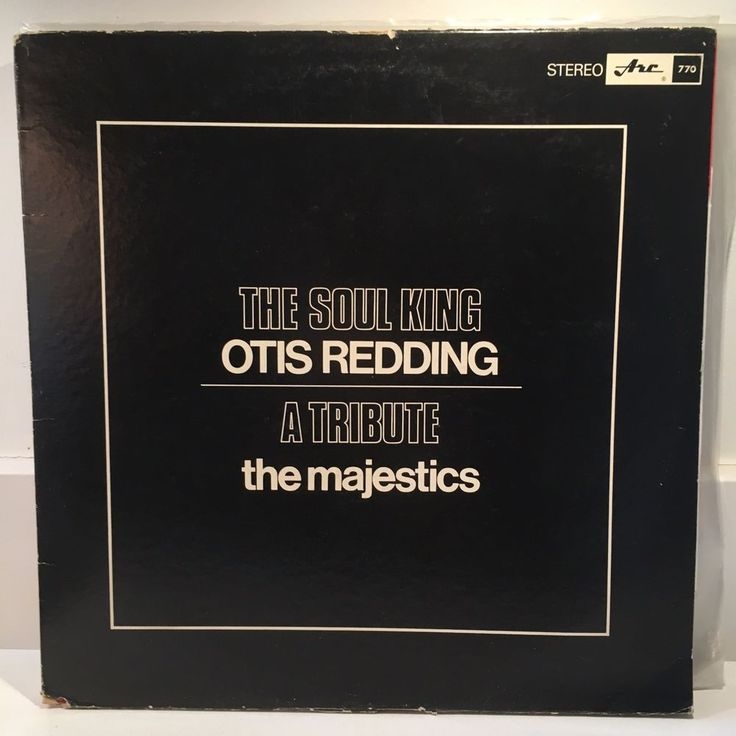 MAJESTICS Otis Redding Soul King Tribute LP 1969 Orig Canada Press SOUL FUNK #FunkSoul
