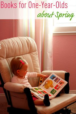 Sharing our favorite spring books for one-year-olds today. What other ones would you add?