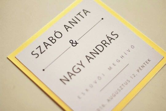 Arany keretes meghívó :) www.mayfly.hu