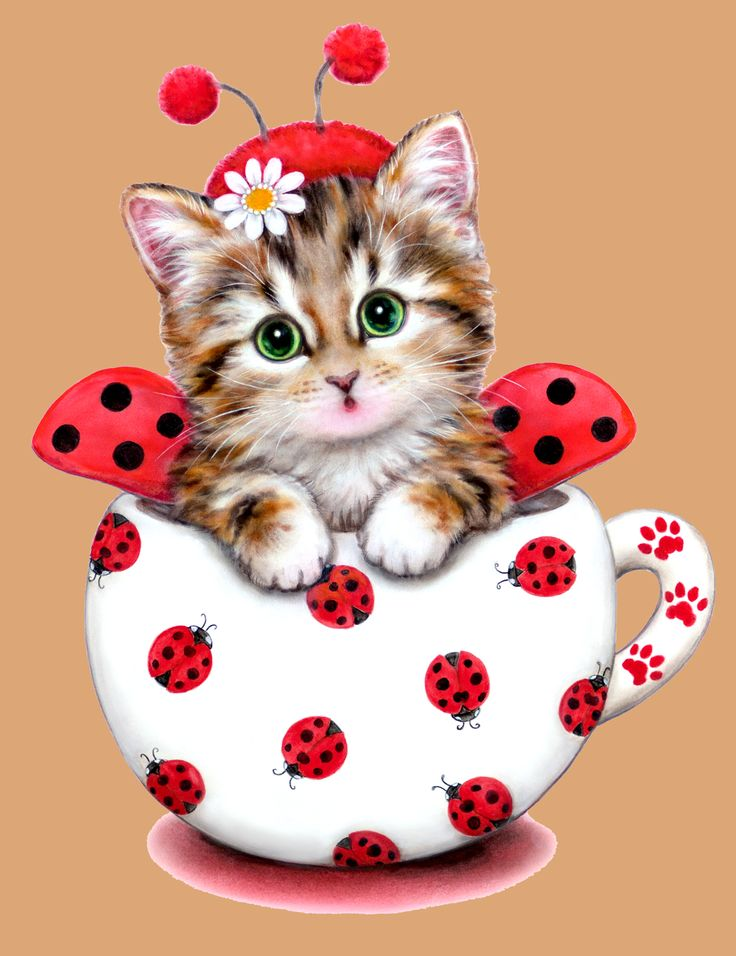 KITTY LADYBUG BY KAYOMI HARAI VISIT OUR WEBSITE www.lailas.com for more great images