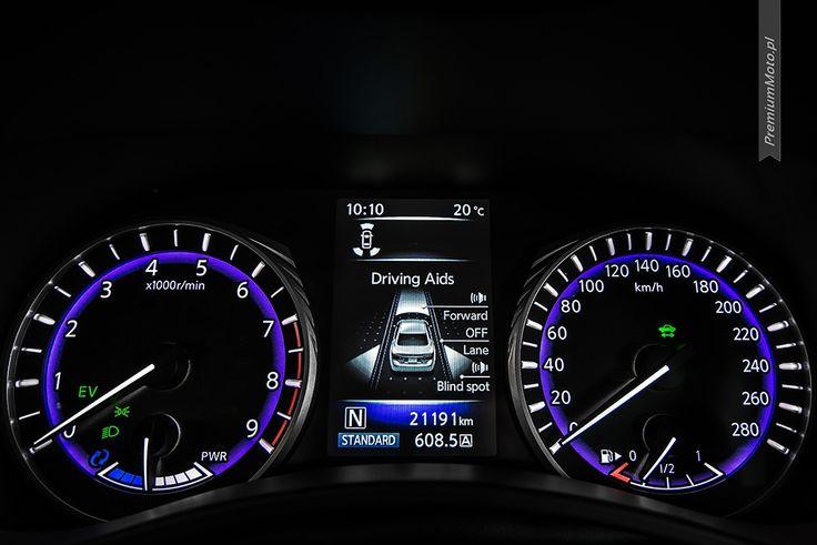 Infiniti Q50S Hybrid AWD instrument dials #Infiniti #Q50 #hybrid #dials more: http://premiummoto.pl/08/09/infiniti-q50s-hybrid-awd-nasza-sesja