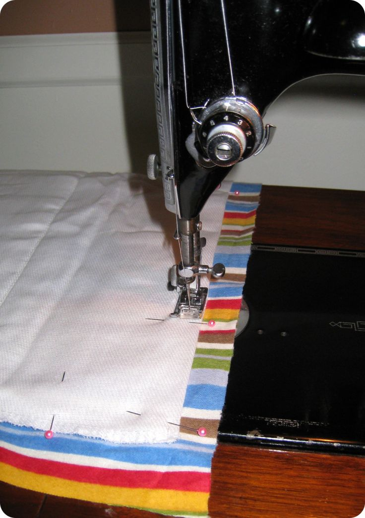 Easy Burp Cloth Tutorial