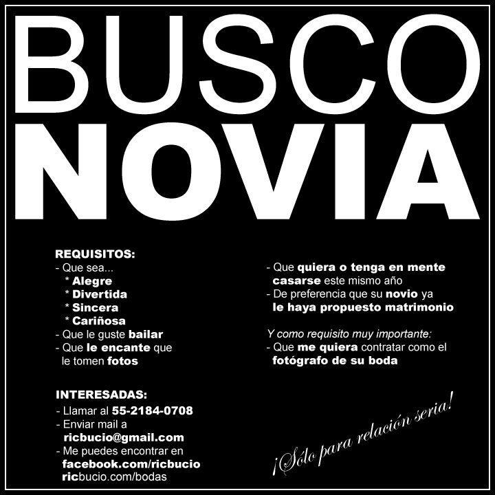 Busco Novia | Ric Bucio - Fotografía http://www.ricbucio.com/busco-novia/