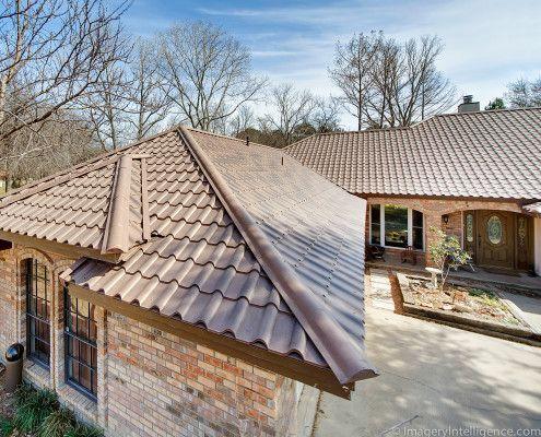 91 Best Metal Tile Roofs Images On Pinterest Metal Roof