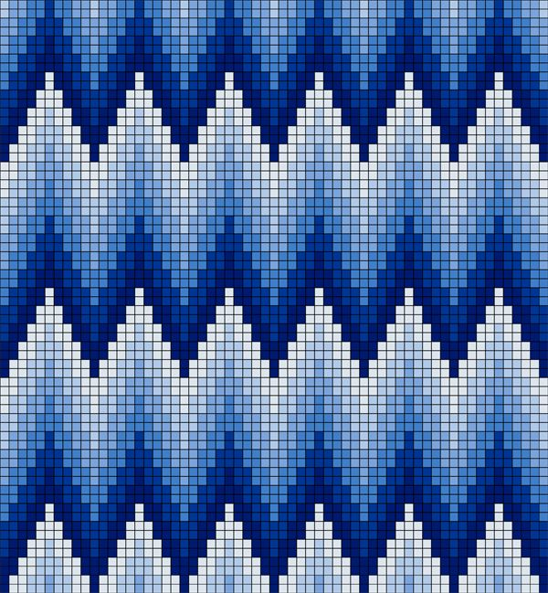 bargello embroidery patterns - Αναζήτηση Google                                                                                                                                                                                 More