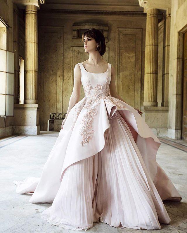 Royal Wedding Wear Crossword : Blush wedding gowns weddings dress fashion