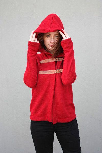 S Ganika Red Sweter - Navaho  - NAVAHO - Koszulki i bluzy
