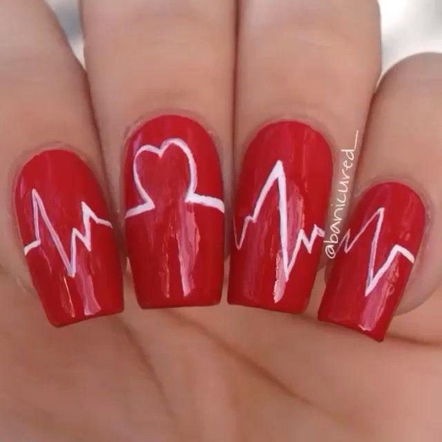 Pin for Later Décorez Vos Ongles Pour la St Valentin Avec Ces Idées Nail  Art