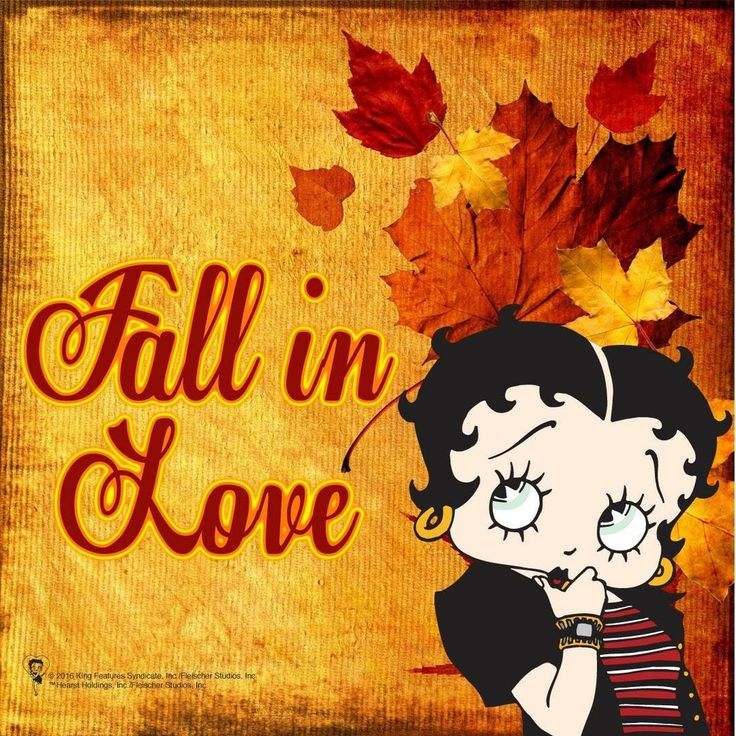 32 best BETTY BOOP FALL images on Pinterest   Betty boop, Betty boop ...