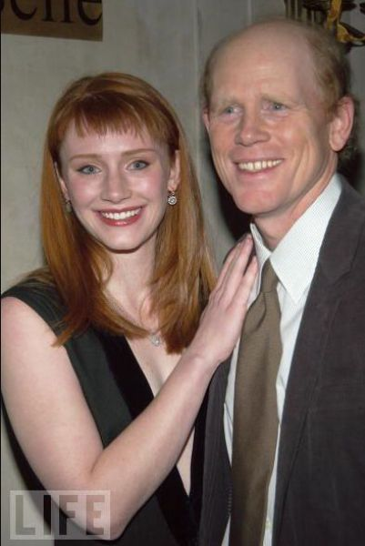 Ron & Daughter Bryce Dallas Howard