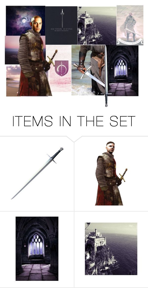 """Vin Diesel as Sir Arthur Dayne: Sword of the Morning"" by nightwisp ❤ liked on Polyvore featuring art, GameOfThrones, vindiesel and arthurdayne"