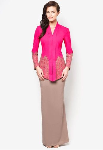 JOVIAN MANDAGIE FOR ZALORA Chantilly Chantelle Kebaya