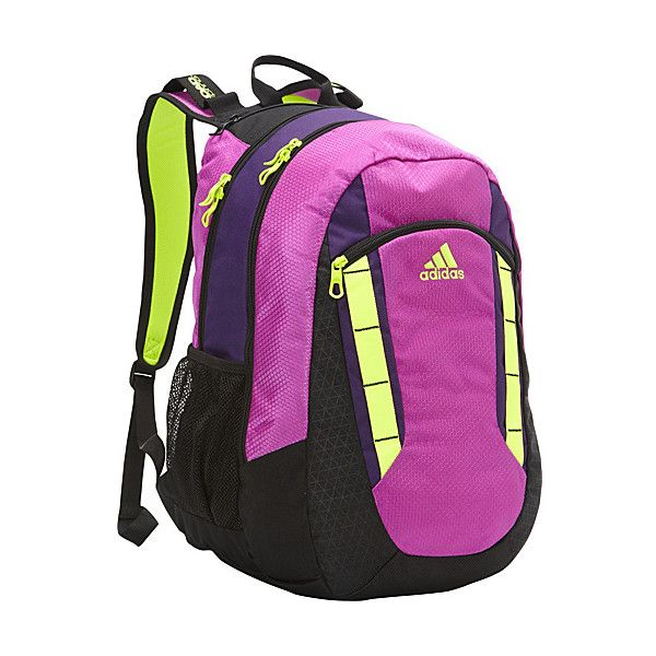 adidas Excel Backpack Laptop Backpack ($40) ❤ liked on Polyvore