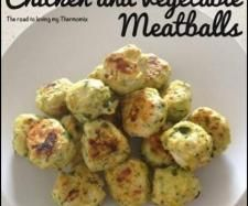 Chicken and Vegetable Meatballs by theroadtolovingmythermomix